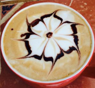Our unique latte art